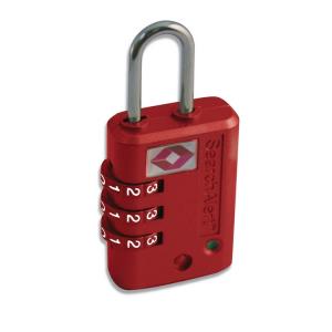 PACSAFE Lucchetto TSA con indicatore PROSAFE 900 rosso PE264RD bagaglio