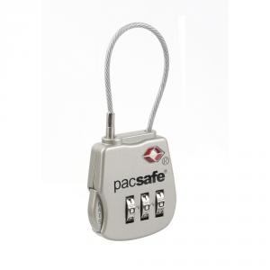 PACSAFE Lucchetto TSA con combinazione PROSAFE 800 argento PE263SL accessorio