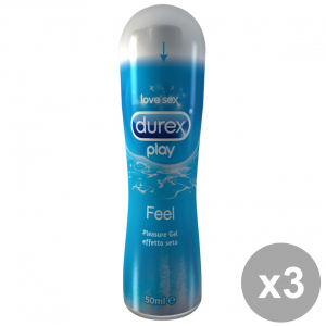 Durex Top Gel 50 Ml Feel Kit 3 Pieces Gel Intimate Massage Gel For Vaginal Dryness