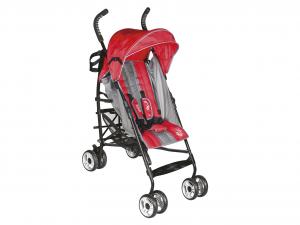 LULABI Greg Kinderwagen Rot/Grau Schlafzimmermöbel Und Babyzubehör