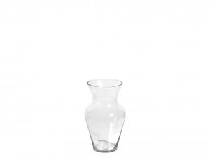 H&H Vaso Vetro Trasparente Uniflor H30 Arredo E Decorazioni Casa