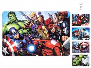 LULABI Set 12 Tovaglietta Polipropilene Avengers L
