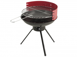 HOME Barbecue A Carbone Tondo Cm40H47.5 Accessori Per Il Tempo Libero