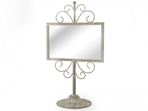 H&H Mirror With Base Decoration For the House Furniture Table