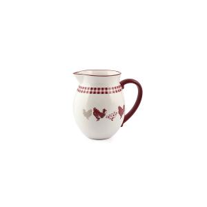 HOME Brocca Ceramica Decorazione Country Lt1 Arredo Tavola