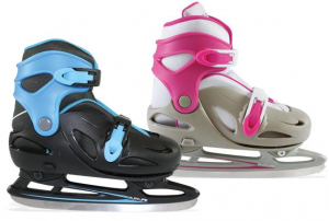 POWERSLIDE patins à glace extensible CYCLONE juniors fuchsia gris 880088 enfant