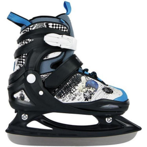 POWERSLIDE patinage sur glace junior extensible BILLY 880 048 céleste noir