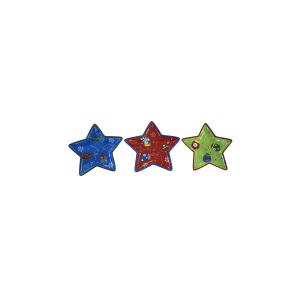 HOME Set 3 Verschiedene Stern-Weihnachts 30 Zentrum Dekorationen Für Den Tisch