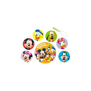 HOME Confezione Dolce 8 Pezzi Melamina Disney Mickey Arredo Cameretta Accessori Bimbo