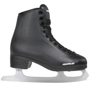 Unisex Black Ice Skates Powerslide Classic 902130/902134 Closure With Laces