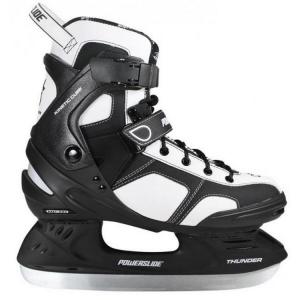 POWERSLIDE Skates unisex THUNDER weiß schwarz 902 139 komfortablen warmen