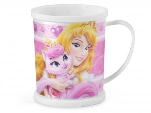 HOME Mug Polipropilene Disney Princess&Pet Ml300 Preparazione Arredo Tavola