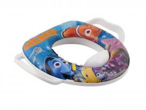 LULABI Set 2 Riduttori Wc Disney Nemo Con Manico Sedili Wc Arredo Bagno Accessori