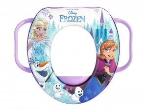LULABI Riduttore Wc Disney Frozen Magic con Manico Plastica e Pvc