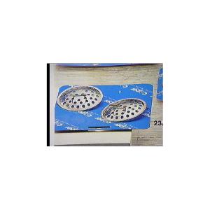 CAPER Confezione 2 filtri inox per lavello Fai da te Brico