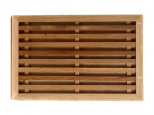 CAPER Cortar madera con pan tostado
