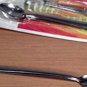 CAPER paquete de utensilios de acero inoxidable cuchara 12 y cubiertos de cocina