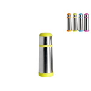 HOME PROFESSIONAL Set 4 Thermos inox f/color lt 0,35 Accessori tempo libero