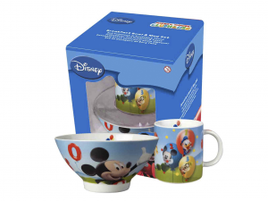 HOME Set ​​Bowls Cup Disney Mickey Preparation Breakfast