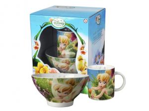 HOME Set Scodelle Mug Disney Fairies Preparazione Colazione Arredo Tavola