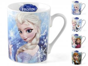 HOME Set 8 Mug Porcellana Disney Frozen Cc300 Preparazione Arredo Tavola