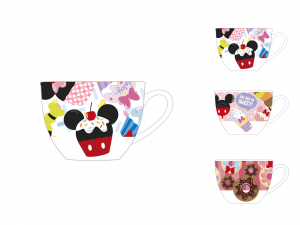 HOME Set 12 Cups Coffee Disney Without Dishes Cc80