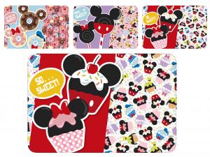 HOME Conjunto De 12 Colchonetas De Polipropileno Accesorios De Alimentos Disney Mickey Bebé
