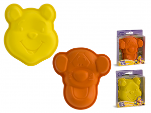HOME Set 6 Molds Silicone Disney Winnie / Tigger 12 cm Pastry
