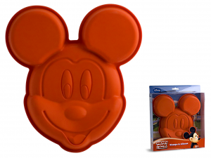HOME Set 3 Molds Silicone Disney Mickey Cm 25 Pastry