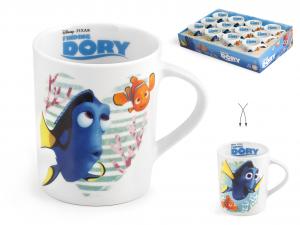 HOME Set 24 Mug Porcellana Disney Dory Cc330 Colazione Arredo Tavola