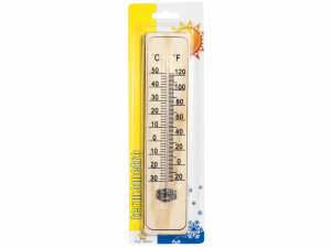 HOME Set 6 Thermometers For Wooden Interior 22 Complement Furniture House