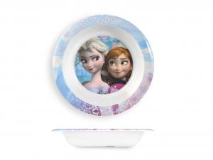 HOME Piatto Melamina Disney Frozen Fondo Cm21 Arredo Tavola