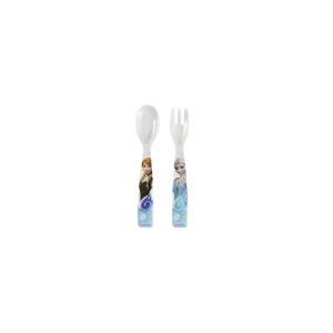 HOME Confezione Cucchiaio Forchetta Melamina Disney Frozen Cameretta Accessori Bimbo