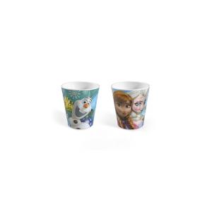 HOME Set 20 Bicchieri Melamina Disneyfrozen Cc190 Arredo Tavola