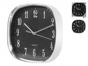 H&H Orologio Parete Quadrato Cromanico Ner35 Arredo E Complementi Casa
