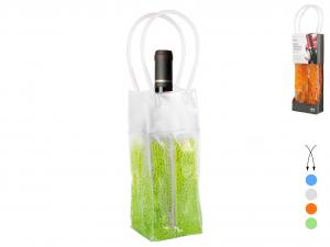 H&H Set 4 Borse Rinfresca Bottiglie Gel/Pvc 36 Colori Assortiti