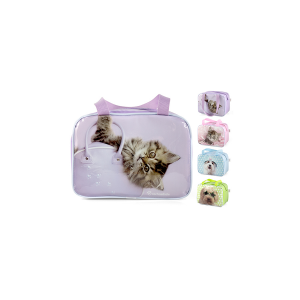 HOME Borsa Termica Peva Decorazione Cats/Dogs Lt.6 Accessori Barbecue E Picnic