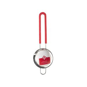HOME Colino Acciaio Inox Manico Silicone Rosso 8 Utensili Da Cucina