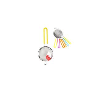 HOME Colino Acciaio Inox Manico Silicone Assortiti 10 Utensili Da Cucina