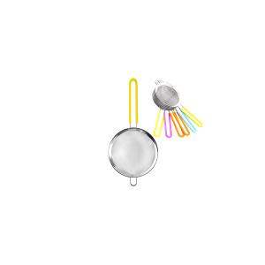 HOME Colino Acciaio Inox Manico Silicone Assortiti 18 Utensili Da Cucina