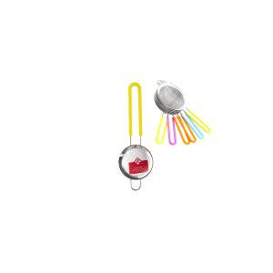 HOME Colino Acciaio Inox Manico Silicone Assoriti 8 Utensili Da Cucina