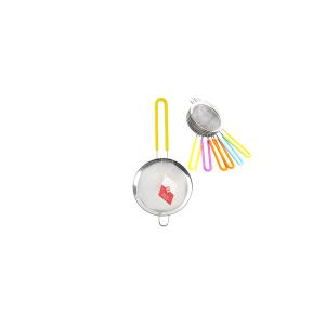 HOME Colino Acciaio Inox Manico Silicone Assortiti 12 Utensili Da Cucina