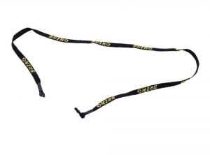 BRIKO Fascetta per occhiali unisex nera 9S9020 loghi gialli