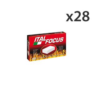 Set 28 ITALFOCUS Accendifuoco * 48 Cubi Barbecue & pic-nic