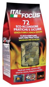 ITALFOCUS Accen.ecologica * 72 cubi - Articoli per pic-nic