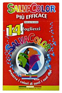 ARCOBALENO SalvaCOLOR X 14 Fogli Detergenti Casa