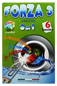 ARCOBALENO SalvaCOLOR 3in1 X 6 Bustine Detergenti Casa