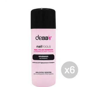 Set 6 DEBBY Acetone Nutriente Unghie E Manicure