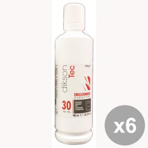 Set 6 DIKSON Acqua Emulsione EMULSINDOR 30 VOL. 980 Ml. Prodotti per capelli