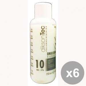 Set 6 DIKSON Acqua Emulsione EMULSINDOR 10 VOL. 250 Ml. Prodotti per capelli